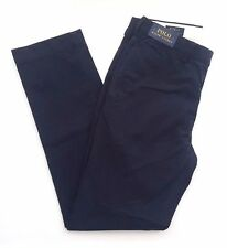 Polo Ralph Lauren Classic Fit Cotton Chinos - Navy Blue W34 L34 - RRP £85