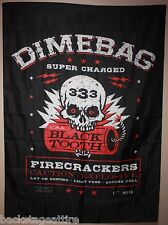 Pantera Dimebag Darrell Super Charged Cloth Fabric Poster Flag Wall Tapestry-New