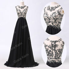 Lace Sexy Chiffon Evening Formal Party Cocktail Long Dress Bridesmaid Prom Gown