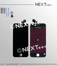 Touch screen vetro retina display frame iphone 5C nero + kit riparazione