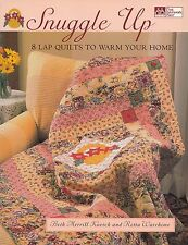 SNUGGLE UP 8 LAP QUILTS TO WARM YOUR HOME QUILTING PATTERN BOOK KOVICH WAREHIME