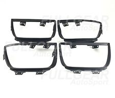 CHEVROLET 2010-2013 CAMARO MATTE BLACK TAIL LIGHT BEZEL FRAME COVER 4 PIECES SET