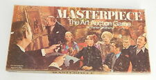 Vintage 1970 Parker Brothers MASTERPIECE Art Auction Board Game COMPLETE R8549
