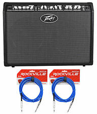 Peavey Special Chorus 212 2-Channel 100 Watt 2x12 Guitar Amp Combo+(2) TS Cables