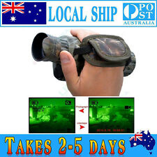 5x 40mm 2M-200M Night Vision Cam Goggles Monocular IRGen Hunting Scope Optic+8GB