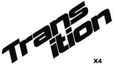 Transition Bike Decals Set of 4  Split DH MTB TR Blindside Freeride