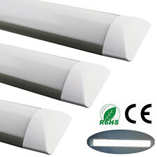 UK 36W LED Ceiling Surface Mount Batten Tube Linear Light Lamp Cool White 4FT