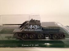 FABBRI RUSSIAN TANKS COLLECTION Soviet SU-85 Battle Tank 1:72 Scale New