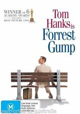 Forrest Gump DVD Movie TOP 250 MOVIES Tom Hanks BRAND NEW Region 4