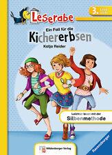 Leserabe 3. Lesestufe Ein Fall für die Kichererbsen Softcover + BONUS