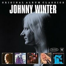 JOHNNY WINTER - ORIGINAL ALBUM CLASSICS 5 CD NEU