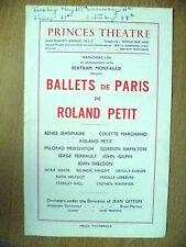 Ballets De Paris Roland Petit: Suite De Danses Du Beau Danube, L'Oeuf A La Coque