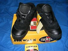 NOS VINTAGE 1993,AIRWALK SHOES PLUS MATRIX BLack MENS 7.5 POWELL PERALTA L@@K