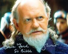 OLIVER FORD DAVIES as Sio Bibble - Star Wars GENUINE AUTOGRAPH UACC (Ref:7792)
