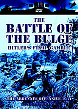 THE BATTLE OF THE BULGE ~ HITLERS FINAL GAMBLE NEW DVD WORLD WAR 2 / ARDENNES