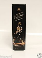Johnnie Walker Black Label Collectible - Rare Hard To Find Tin Case