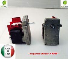 Motoriduttore stufa pellet RPM 5 maschio marca KENTA K 911 7156 carico pellet