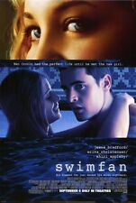 SWIMFAN Movie POSTER 27x40 Jesse Bradford Erika Christensen Shiri Appleby Kate