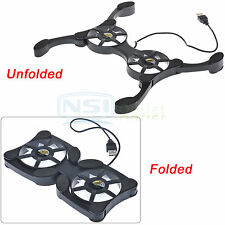 Mini Portable Foldable USB Cooler Cooling Pad with 2 Fans For Laptop Notebook PC