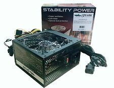 NEW Stability Power 750W ATX Gaming Computer Supply Intel Core i3/i5/i7 6/8-pin