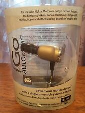 NIB iGo Universal Vehicle Auto Power Adapter Charger plus extra A20 iTip