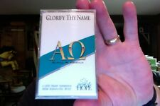 Glorify Thy Name- Songs of Hope/Alpha Omega...new/sealed cassette tape