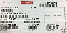 Intel CM8064601561513 SR1QS Core i7-4790T Processor 8M Cache New Bulk