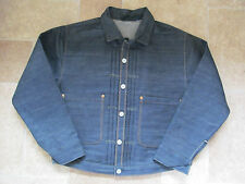 Levi's Vintage Clothing LVC 1880 Blue Triple Pleated Blouse / jkt  XL £395 BNWoT