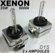 2 x D1S 35w 6000k AMPOULES XENON ECLAIRAGE PHARES REMPLACEMENT BMW E87 SERIE 1