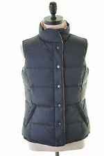 Crew Clothing. Co Womens Reversible Padded Gilet Size 8 Small Navy Blue