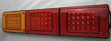12/24V LED Jumbo Tail light, Amber/Red/Red, Truck,Bus,Ute,Trailer,Caravan,Kenwor