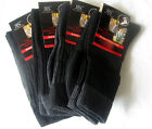 4 Pair sturdy Work socks with Inner terry without elastic black / grey 39 - 42