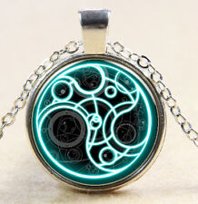 Doctor Who time stamp pendant wonderful necklace   Necklace   DD       217