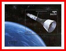 BHUTAN 1999 = 30 ANNIVERSARY APOLLO SPACE PROGRAM x2 S/S SC#1249  MNH GEMINI