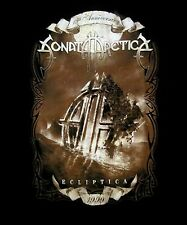 SONATA ARCTICA cd cvr 15th Anniversary ECLIPTICA Official SHIRT LAST LRG New oop