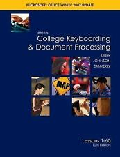 Gregg College Keyboarding & Document Processing (GDP), Word 2007 Update, Kit 1,