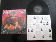 "DASH RIP ROCK ""NOT OF THIS WORLD"" 1990 USA PRESS LP (ROOTS ROCK, PUNK)"
