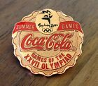 Coca-Cola Bronze Bottle Cap with Ribbon Sydney 2000 Olympic Pin