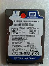 Hard Disk Drive HDD spares parts FAULTY 160GB WESTERN DIGITAL WD1600BEVT 75ZCT2