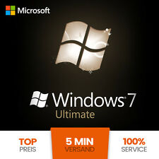 Microsoft Windows 7 Ultimate 32/64 Bit | OEM Key | VOLLVERSION ESD
