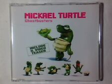 MICKAEL TURTLE Ghostbusters cd singolo RAY PARKER JR.