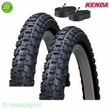 01022008k 2 x Kenda k-50 neumáticos de bicicleta abrigo 20 x 2,125 57-406 + mangueras DV