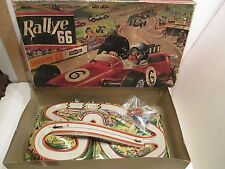 RALLEY 66 TECHNOFIX MOUNTAIN RACE WAY WIND-UP MINT CONDITION WITH BOX