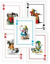5 MAD HATTER TEA PARTY - ALICE IN WONDERLAND GIANT LARGE - A4 Playing Cards