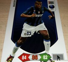 CARD ADRENALYN CALCIATORI PANINI INTER MAICON CALCIO FOOTBALL 2011