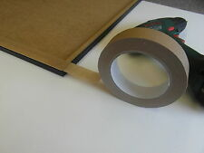 1 x 25mm Brown Adhesive Backing Tape Picture Framing 50m