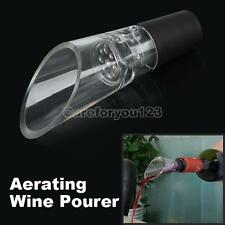 New Decanter Red Wine Aerator w Filter Air intake Pour Pourer Aerating Stopper