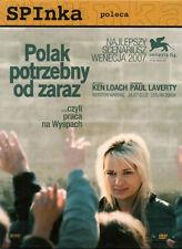 Polak potrzebny od zaraz (DVD)  2008 Ken Loach POLSKI