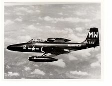 McDonnell F2H2F Banshee Marines Fighter Aircraft Official Photo 8x10 Korea 1952