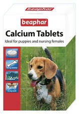 Beaphar Calcium Tablets Contains High Quality Minerals For Healthy Dog Puppies